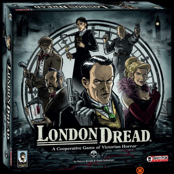 London Dread angol nyelvű társasjáték