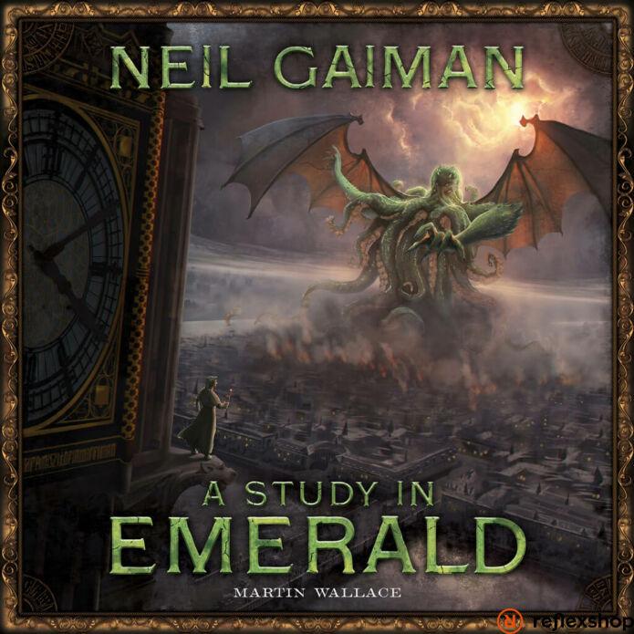 Study In Emerald angol nyelvű társasjáték, második kiadás
