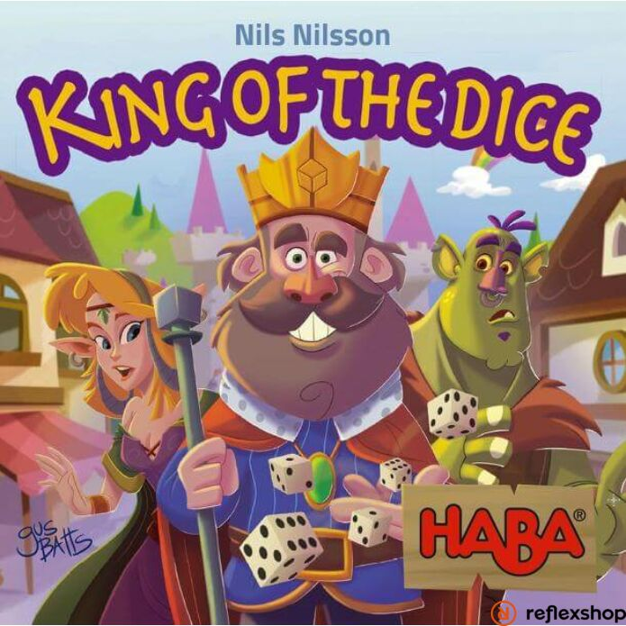 King of the Dice - A kockák királya társasjáték