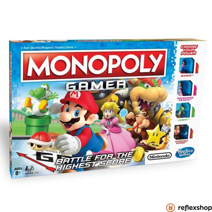 Hasbro: Monopoly Gamer társasjáték