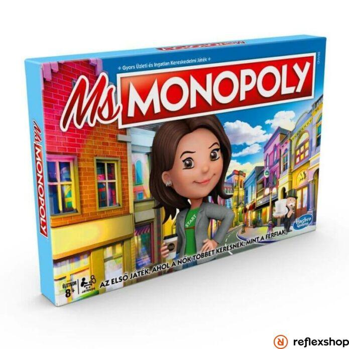 Ms. Monopoly borító