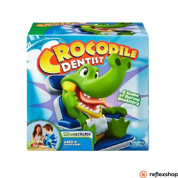 Hasbro Elefun és barátai Krokodil fogászat