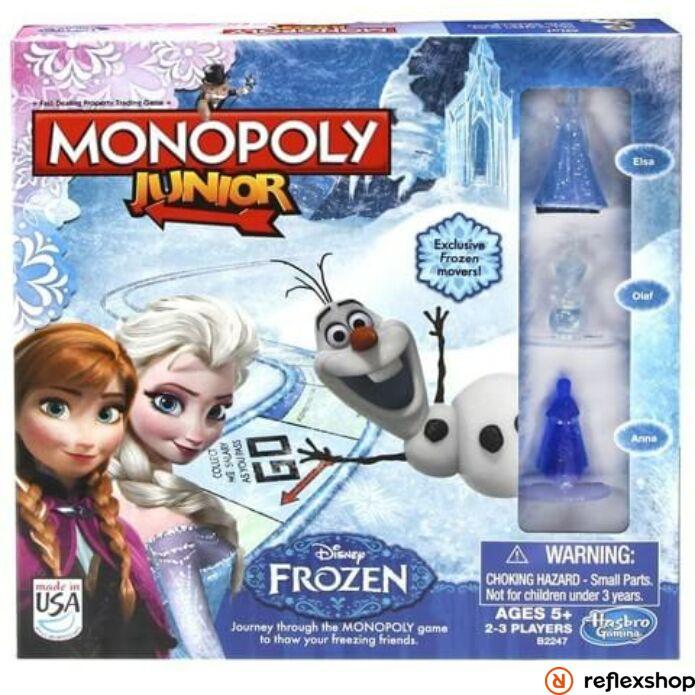 Monopoly Junior Jégvarázs társasjáték