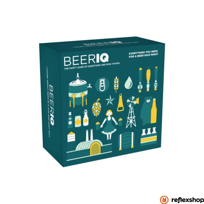 BeerIQ társasjáték, angol nyelvű