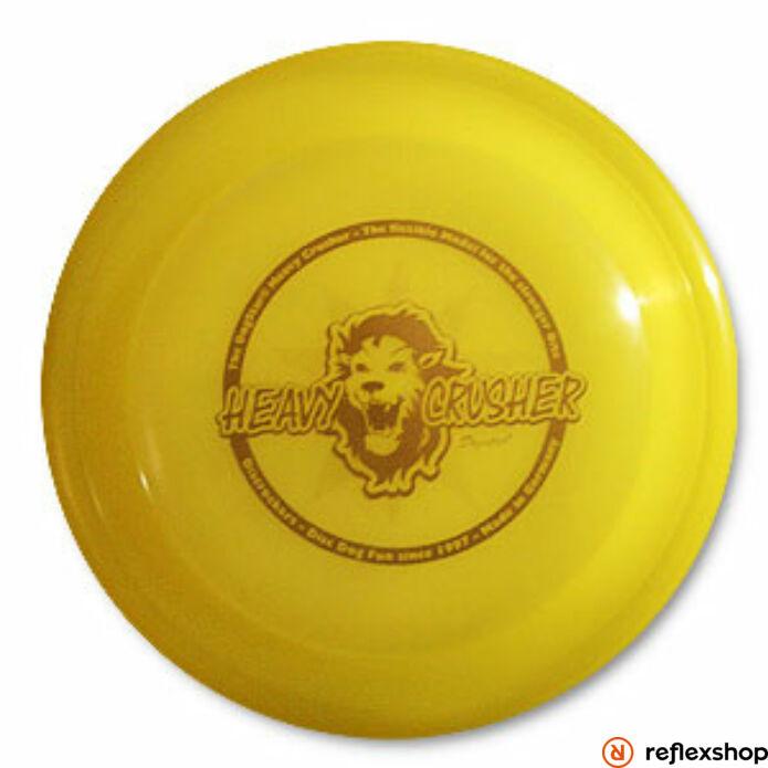 RockStar Heavy Crusher kutyafrizbi sárga 19 cm 100g