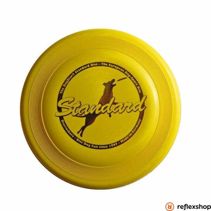 DogStar Standard kutyafrizbi sárga 24cm 100g