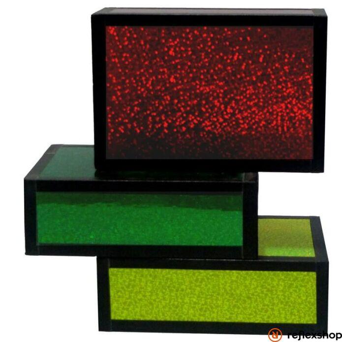 Henry's Cigarbox, glitter piros