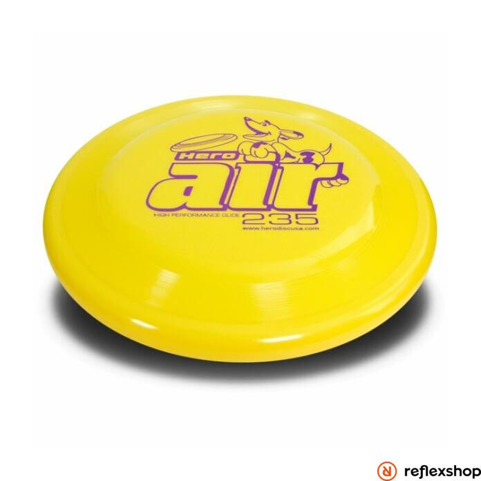 NG Hero Disc Air 235 standard kutyafrizbi, 23,5cm, sárga