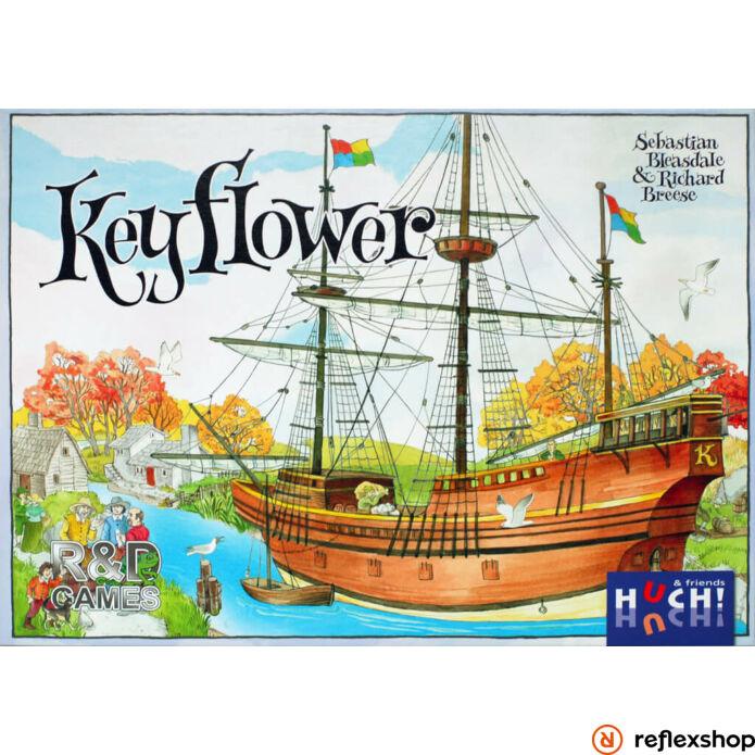 Keyflower angol nyelvű társasjáték