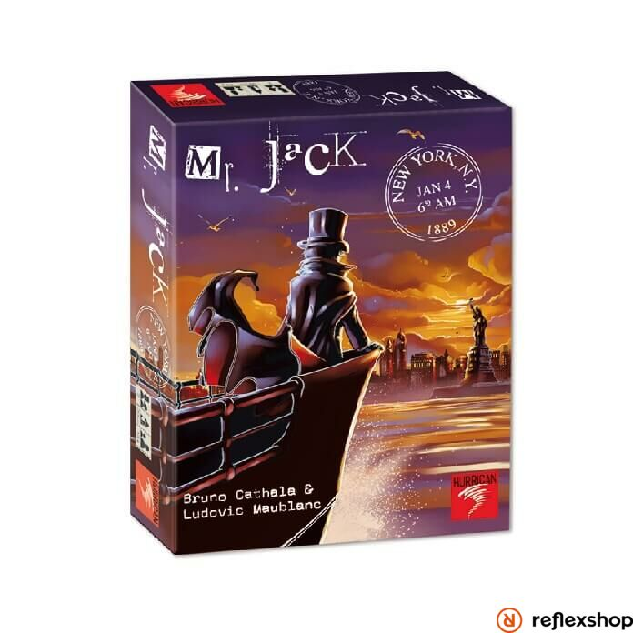 Hurrican Mr. Jack in New York társasjáték