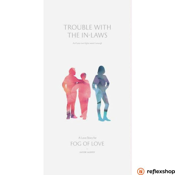 Fog of Love társasjáték Trouble with the In-Laws kiegészítő, angol nyelvű
