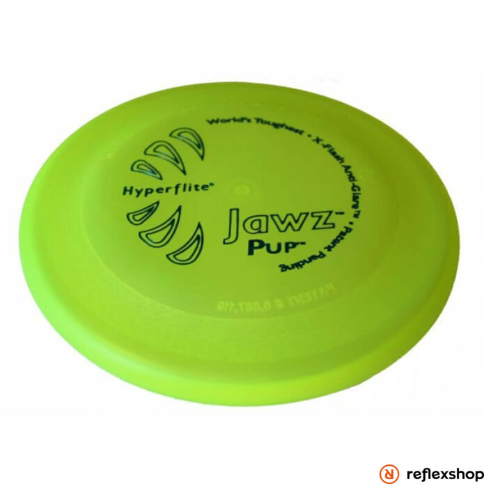 Hyperflite Jawz Pup kutyafrizbi, sárga