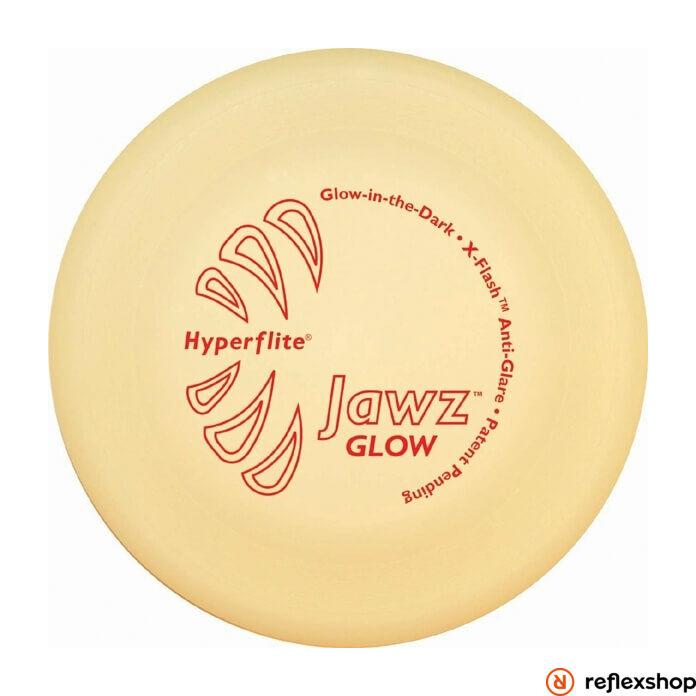 Hyperflite Jawz nightglow kutyafrizbi, harapásálló