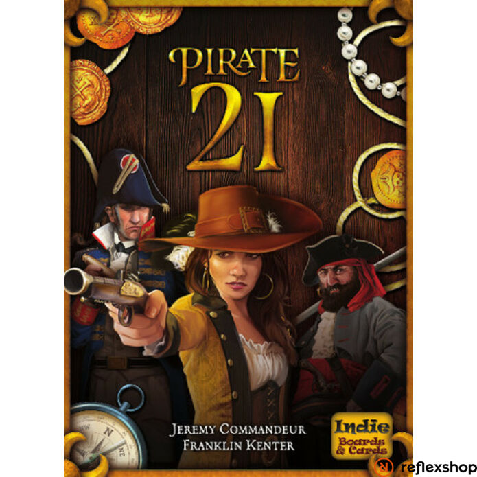 21 Pirate angol nyelvű társasjáték