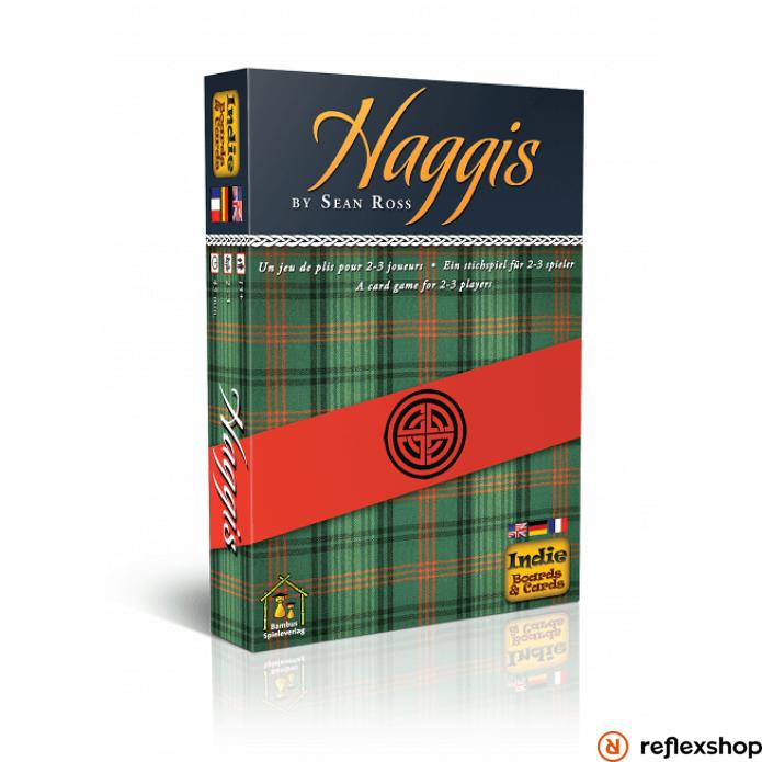 Haggis társasjáték, angol nyelvű
