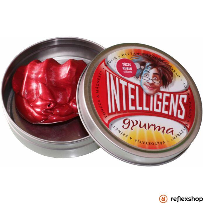 Intelligens Gyurma tüzes rubin