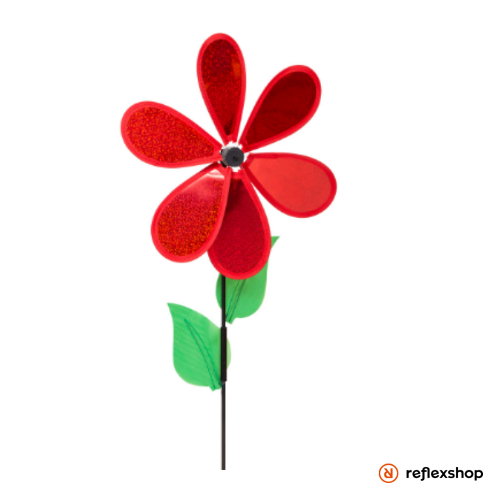 Invento Ecoline piros virág szélforgó