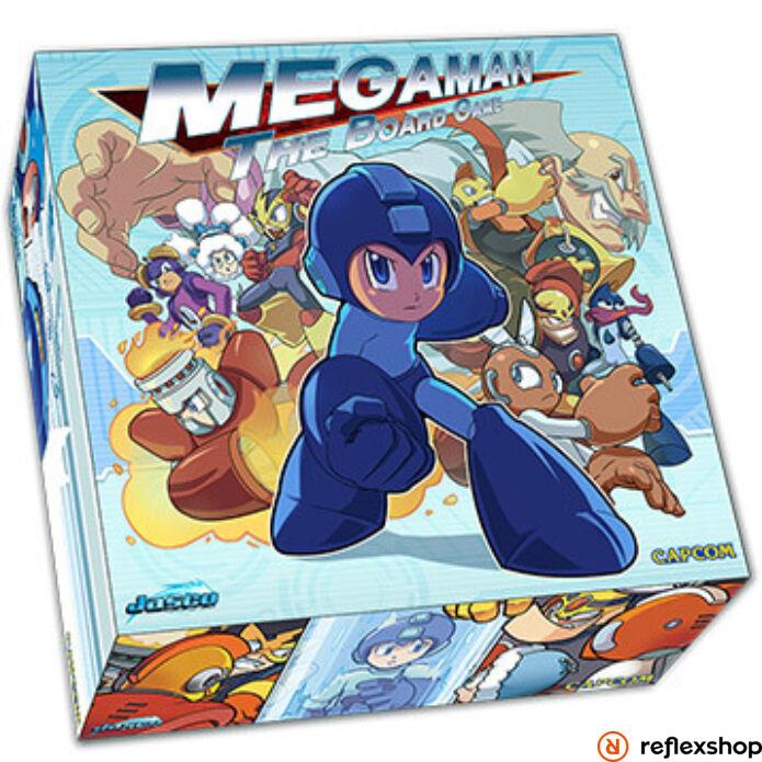 Mega Man társasjáték, angol nyelvű