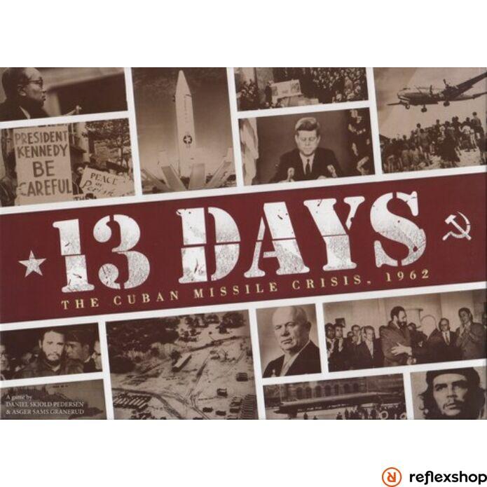 13 Days The Cuban Missile crisis angol nyelvű társasjáték