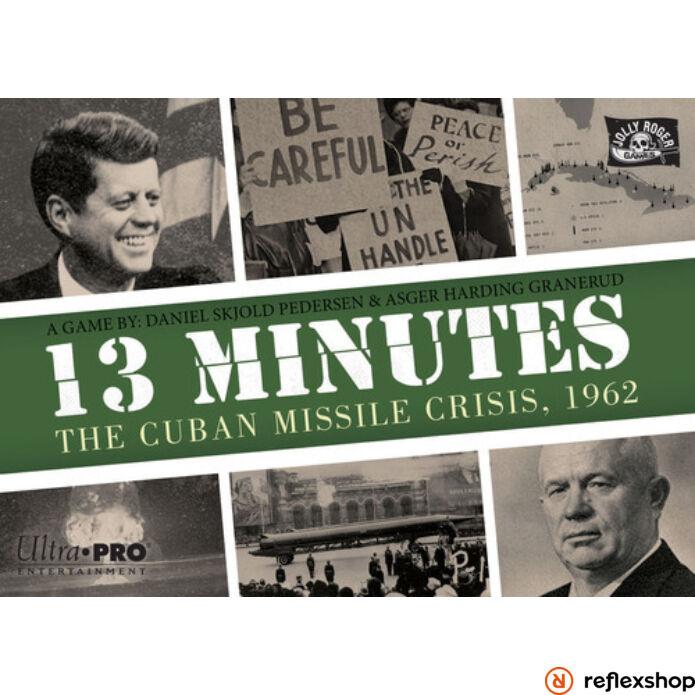 13 Minutes The Cuban missile crisis angol nyelvű társasjáték