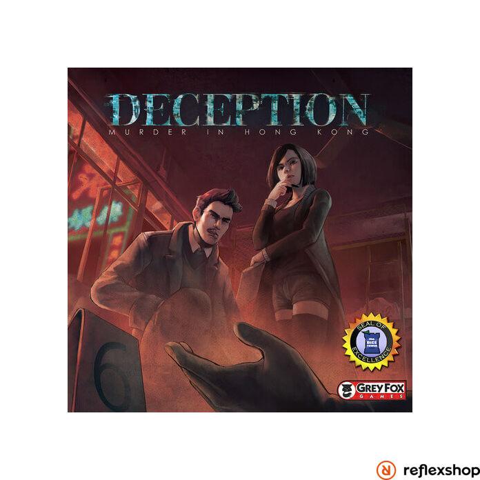 Deception - Murder in Hong Kong angol nyelvű társasjáték