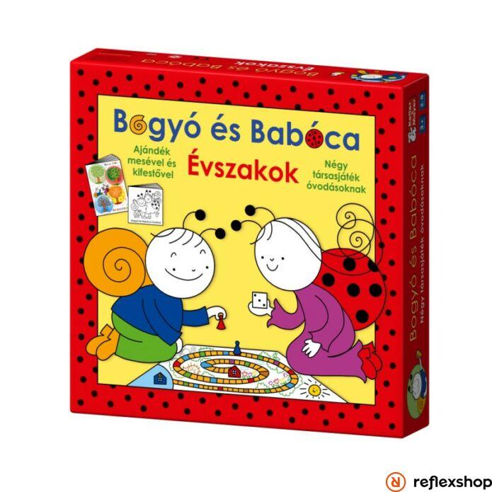 Bogyó és Babóca Évszakok társasjáték
