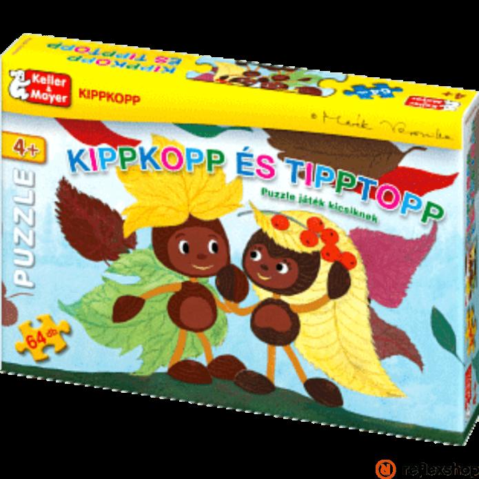 Kippkopp és Tipptopp puzzle