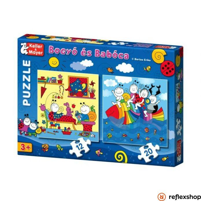 Bogyó és Babóca Szivárványhal Puzzle