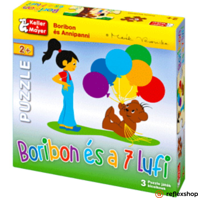 Boribon és a 7 lufi Puzzle