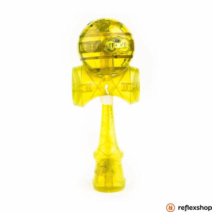 YoYoFactory Catchy LED Kendama sárga átlátszó