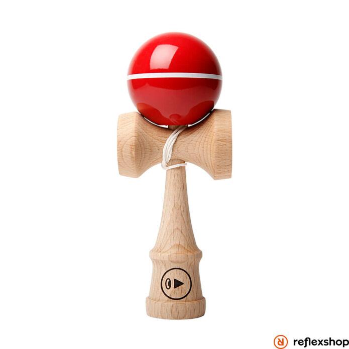 Kendama Play Pro II Recpaint, vékony csíkos piros