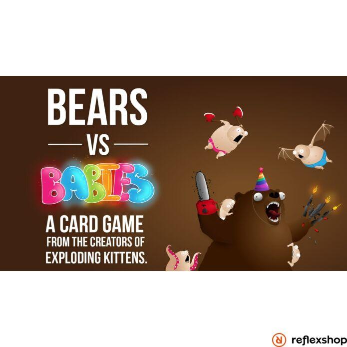 Bears vs Babies Core Deck angol nyelvű társasjáték