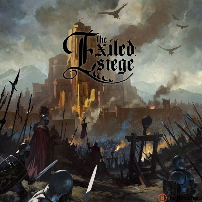The Exiled: Siege angol nyelvű társasjáték