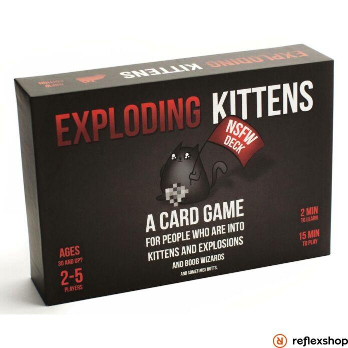 Exploding Kittens NSFW angol nyelvű társasjáték