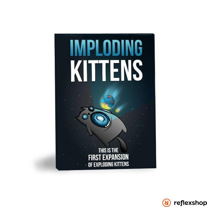 Imploding Kittens társasjáték angol nyelvű kiegészítő