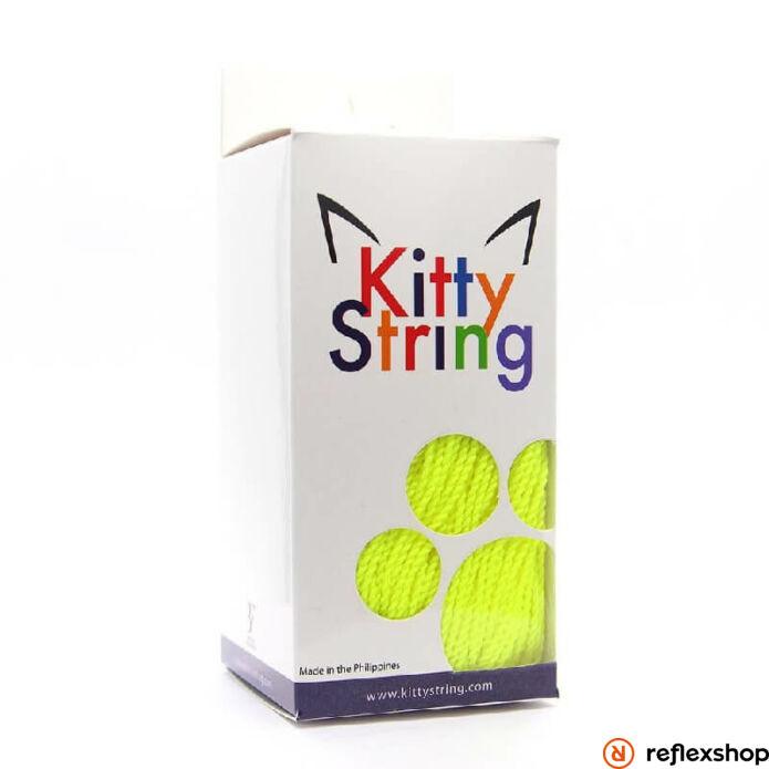 Kitty String yo-yo zsinór, FAT TALL, neon sárga