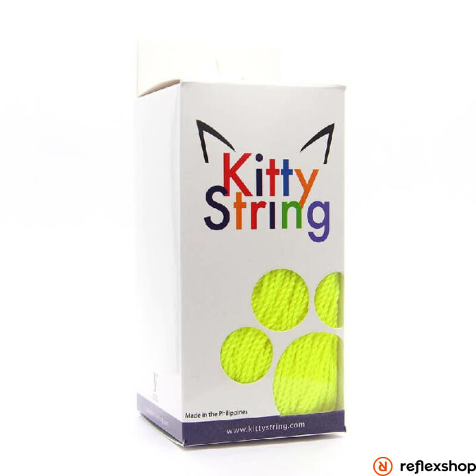 Kitty String yo-yo zsinór, FAT TALL, neon sárga