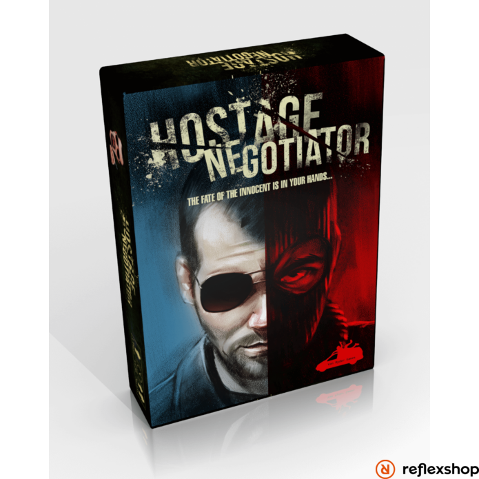 Hostage Negotiator angol nyelvű társasjáték