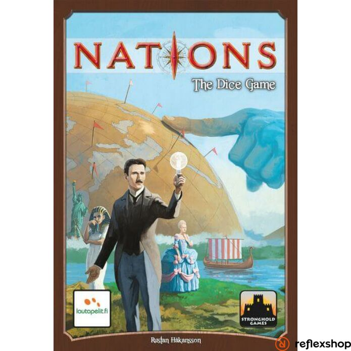 Nations - The Dice Game - Reflexshop