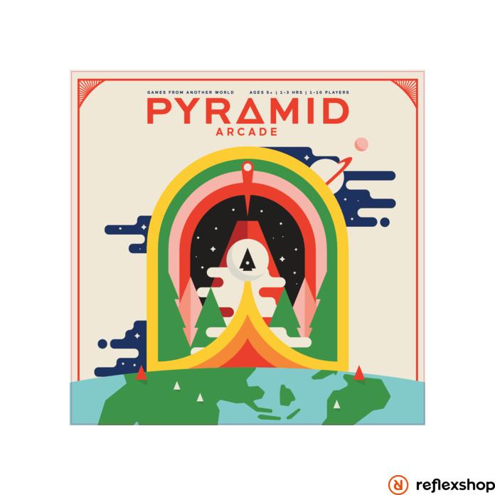 Pyramid Arcade angol nyelvű társasjáték