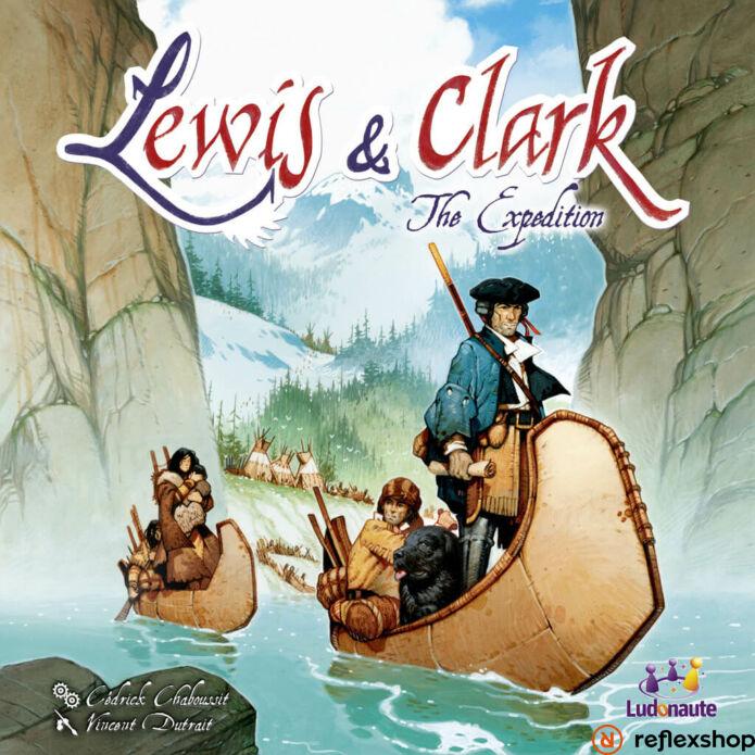 Lewis & Clark társasjáték, angol nyelvű