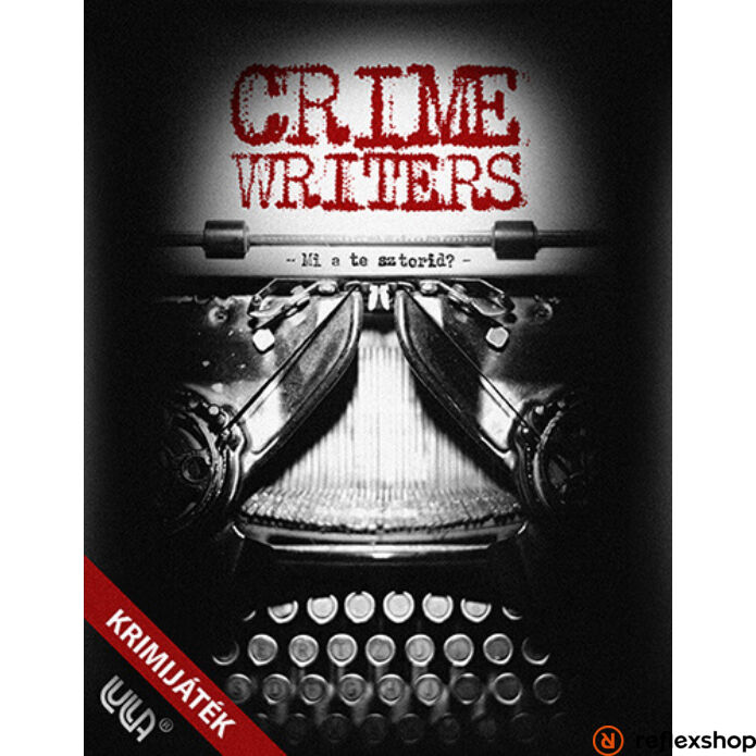 Crime Writers krimi társasjáték