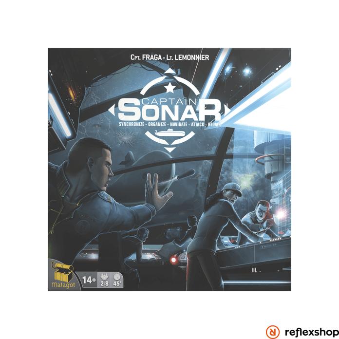Captain Sonar társasjáték, magyar nyelvű