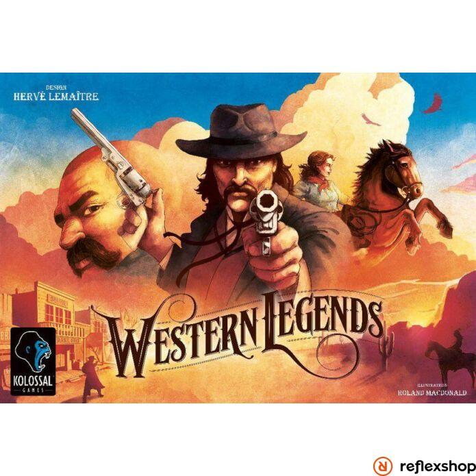 Western Legends társasjáték, angol nyelvű