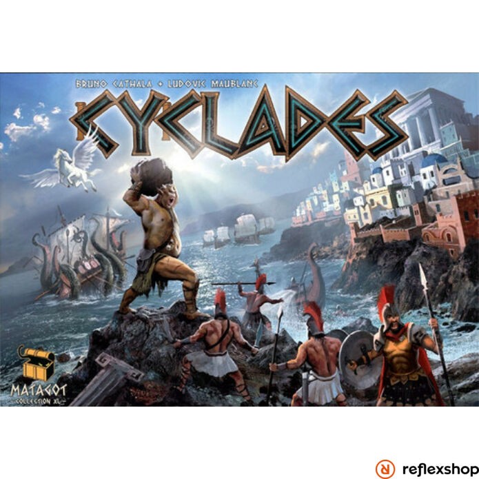 Cyclades angol nyelvű társasjáték