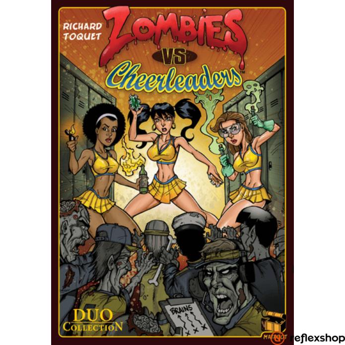 Zombies vs Cheerleaders angol nyelvű társasjáték