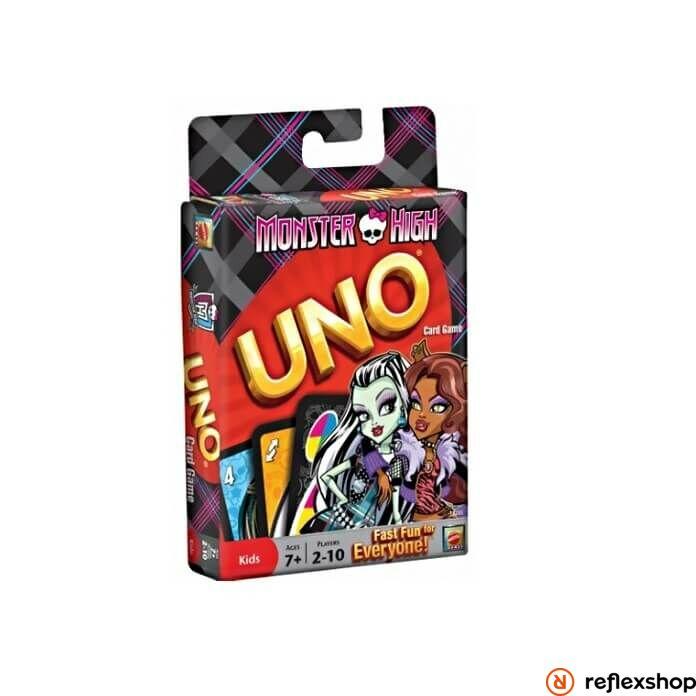 Mattel Monster High Uno kártya