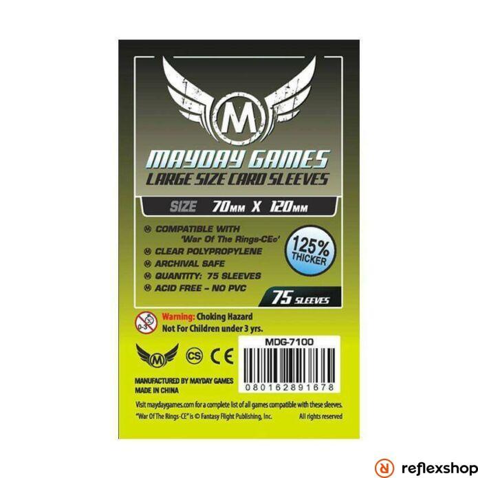 Mayday Games Különleges egyedi kiadás WOTR-CE kártyavédő (75 db-os csomag) 70 x 120 mm