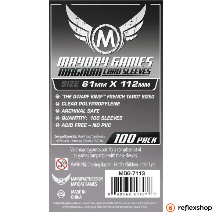 Mayday Games Magnum Platinum kártyavédő 61 x 112 mm