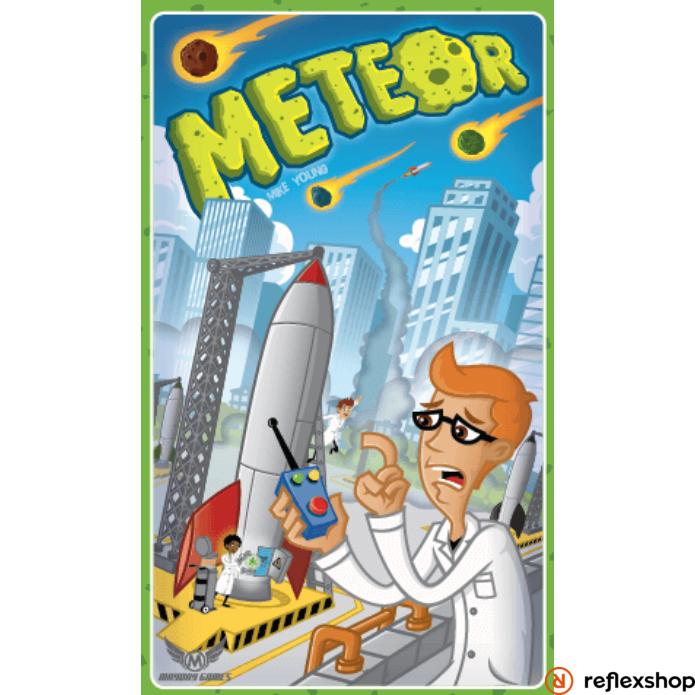 Meteor angol nyelvű kooperatív társasjáték